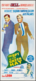 """Movie Posters:Action, The Spy in the Green Hat & Other Lot (MGM, 1966). Folded, Very Fine/Near Mint. Australian Daybills (2) (13.5"""" X 30""""). Action... (Total: 2 Items)"""