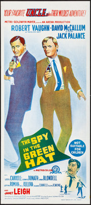 The Spy in the Green Hat & Other Lot (MGM, 1966). Folded, Very Fine/Near Mint. Australian Daybills (2) (13.5&quo...