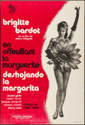 """Movie Posters:Foreign, Mademoiselle Striptease (CIRE, R-1972). Folded, Fine/Very Fine. Spanish One Sheet (27"""" X 39.5""""). Foreign.. ..."""