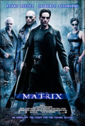 """Movie Posters:Science Fiction, The Matrix (Warner Brothers, 1999). Rolled, Very Fine/Near Mint. One Sheet (27"""" X 40"""") DS, Advance. Science Fiction.. ..."""