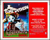 "Monty Python Live at the Hollywood Bowl (Columbia, 1982). Rolled, Very Fine/Near Mint. Half Sheet (22"" X 28"")..."