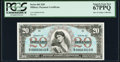 Military Payment Certificates:Series 661, Series 661 $20 PCGS Superb Gem New 67PPQ.. ...