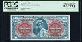 Military Payment Certificates:Series 691, Series 691 $10 Second Printing PCGS Superb Gem New 67PPQ. . ...