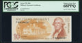 Military Payment Certificates:Series 701, Series 701 $10 Second Printing PCGS Superb Gem New 68PPQ.. ...