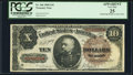 Fr. 366 $10 1890 Treasury Note PCGS Apparent Very Fine 25