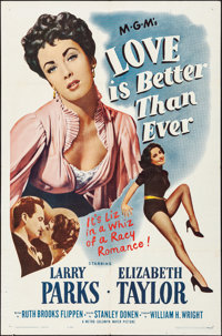 "Love is Better Than Ever & Other Lot (MGM, R-1962). Folded, Overall: Very Fine-. One Sheets (3) (27"" X 41""..."