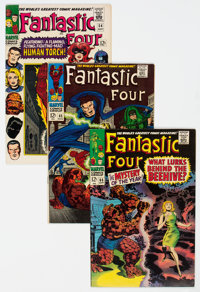 Fantastic Four Group of 21 (Marvel, 1966-69) Condition: Average FN/VF.... (Total: 21 Comic Books)