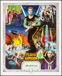Buster Crabbe as Flash Gordon (Nostalgia Merchant, 1977). Very Fine- on Linen. Autographed and Hand Numbered Limited Edi...
