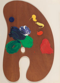 Jim Dine (b. 1935) Palette IV, from Four Palettes, 1969 Painted wood multiple mounted to