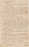 Entertainment Collectibles, Notice of a Town Meeting in Cambridge During the Revolutionary War.. ...