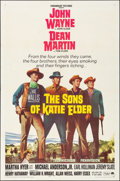 """Movie Posters:Western, The Sons of Katie Elder (Paramount, 1965). Folded, Very Fine. One Sheet (27"""" X 41""""). Western.. ..."""