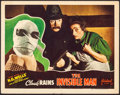 "Movie Posters:Horror, The Invisible Man (Realart, R-1947). Fine/Very Fine. Lobby Card (11"" X 14""). Horror.. ..."
