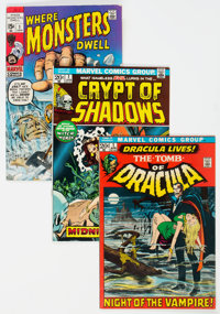 Marvel Bronze Age Horror Group of 22 (Marvel, 1970-74) Condition: Average FN+.... (Total: 22 Comic Books)