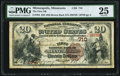 National Bank Notes:Minnesota, Minneapolis, MN - $20 1882 Brown Back Fr. 494 The First National Bank Ch. # 710 PMG Very Fine 25.. ...