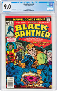 Black Panther #1 (Marvel, 1977) CGC VF/NM 9.0 White pages