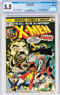 X-Men #94 (Marvel, 1975) CGC FN- 5.5 Off-white pages