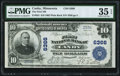 Canby, MN - $10 1902 Plain Back Fr. 624 The First National Bank Ch. # 6366 PMG Choice Very Fine 35 EPQ