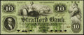 Obsoletes By State:New Hampshire, Dover, NH- Strafford Bank $10 1862 Very Fine.. ...