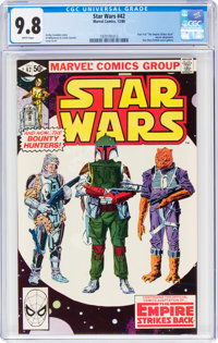 Star Wars #42 (Marvel, 1980) CGC NM/MT 9.8 White pages