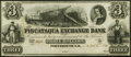 Obsoletes By State:New Hampshire, Portsmouth, NH- Piscataqua Exchange Bank $3 Nov. 6, 1852 Remainder Crisp Uncirculated.. ...