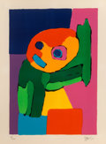 Fine Art - Work on Paper:Print, Karel Appel (1921-2006). Untitled, 1971. Lithograph in colors on wove paper. 37-1/2 x 27-1/4 inches (95.3 x 69.2 cm) (sh...