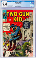 Silver Age (1956-1969):Western, Two-Gun Kid #73 (Marvel, 1965) CGC NM 9.4 Off-white to white pages....