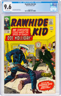 Silver Age (1956-1969):Western, Rawhide Kid #46 (Marvel, 1965) CGC NM+ 9.6 Off-white pages....
