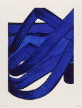 Fine Art - Work on Paper:Print, Pierre Soulages (b. 1919). Composition, from Official Arts Portfolio of the XXIVth Olympiad, Seoul, Korea, 1988. Lit...