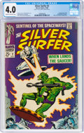 Silver Age (1956-1969):Superhero, The Silver Surfer #2 (Marvel, 1968) CGC VG 4.0 Cream to off-white pages....