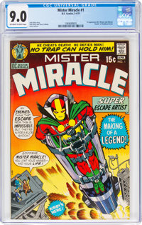 Mister Miracle #1 (DC, 1971) CGC VF/NM 9.0 Off-white to white pages
