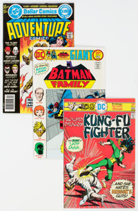 DC Bronze to Modern Age Comics Group of 78 (DC, 1973-88) Condition: Average VF/NM.... (Total: 78 )