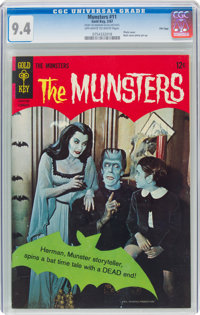 Munsters #11 File Copy (Gold Key, 1967) CGC NM 9.4 Off-white to white pages