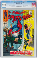 Silver Age (1956-1969):Superhero, The Amazing Spider-Man #59 (Marvel, 1968) CGC NM- 9.2 Off-white pages....