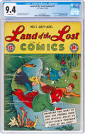 Golden Age (1938-1955):Humor, Land of the Lost Comics #1 (EC, 1946) CGC NM 9.4 Off-white pages....