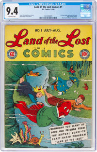 Land of the Lost Comics #1 (EC, 1946) CGC NM 9.4 Off-white pages