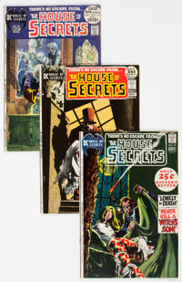 House of Secrets Group of 26 (DC, 1971-75) Condition: Average VG.... (Total: 26 Comic Books)