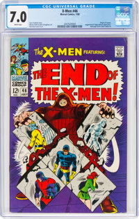 X-Men #46 (Marvel, 1968) CGC FN/VF 7.0 White pages