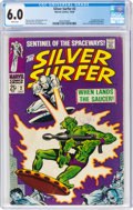 Silver Age (1956-1969):Superhero, The Silver Surfer #2 (Marvel, 1968) CGC FN 6.0 White pages....