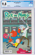Modern Age (1980-Present):Humor, Rick and Morty #1 (Oni Press, 2015) CGC NM/MT 9.8 White pages....