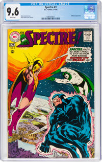 The Spectre #3 (DC, 1968) CGC NM+ 9.6 White pages