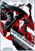 "Movie Posters:Action, Captain America: The Winter Soldier (Walt Disney Pictures, 2014). Rolled, Very Fine/Near Mint. IMAX Exclusive Poster (13"" X ..."