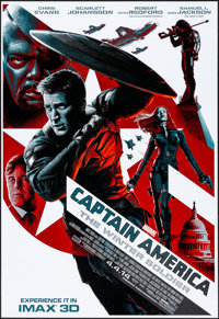 Captain America: The Winter Soldier (Walt Disney Pictures, 2014). Rolled, Very Fine/Near Mint. IMAX Exclusive Poster (13...