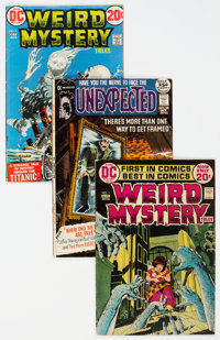 DC Silver to Modern Age Horror Group (DC, 1969-81).... (Total: 40 )