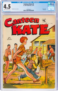 Canteen Kate #3 (St. John, 1952) CGC VG+ 4.5 Cream to off-white pages