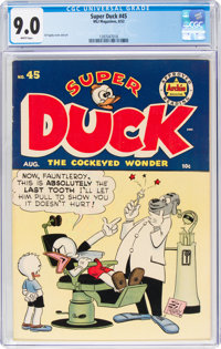 Super Duck #45 (Archie, 1952) CGC VF/NM 9.0 White pages