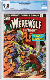Werewolf by Night #17 (Marvel, 1974) CGC NM/MT 9.8 White pages