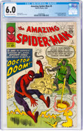 Silver Age (1956-1969):Superhero, The Amazing Spider-Man #5 (Marvel, 1963) CGC FN 6.0 Off-white to white pages....
