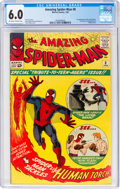 Silver Age (1956-1969):Superhero, The Amazing Spider-Man #8 (Marvel, 1964) CGC FN 6.0 Off-white to white pages....