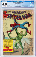 Silver Age (1956-1969):Superhero, The Amazing Spider-Man #20 (Marvel, 1965) CGC VG 4.0 Off-white pages....