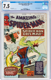 The Amazing Spider-Man #24 (Marvel, 1965) CGC VF- 7.5 Off-white to white pages